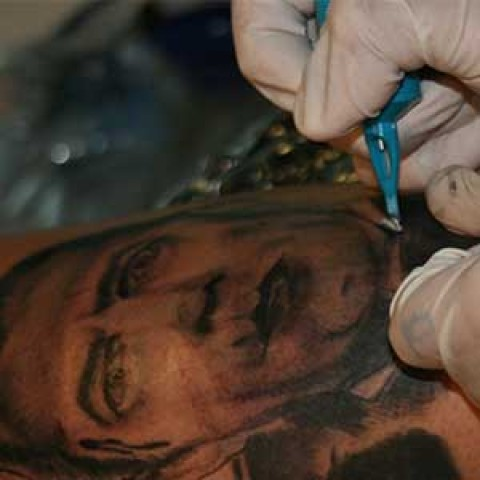 Video Tutorial: Black and Grey Dracula Tattoo